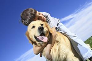 Los niños que viven con un perro  son más empáticos